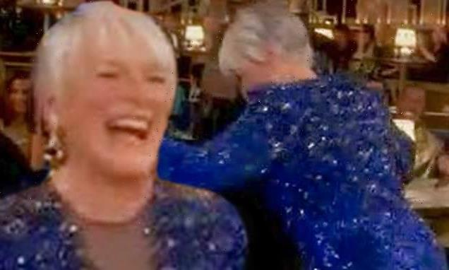 Glenn Close, 74, owns the Oscars as she twerks to funk 80s hit Da Butt