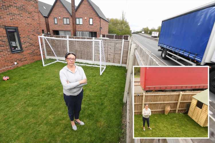 Gran who bought £325k house next to A-road after SEVEN viewings hits back at trolls and says 'I'm not stupid'