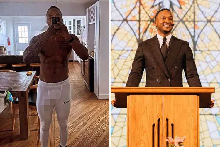 Hillsong pastor Darnell Barrett resigns after 'sending explicit photo of his bulge in tights to female parishioner'