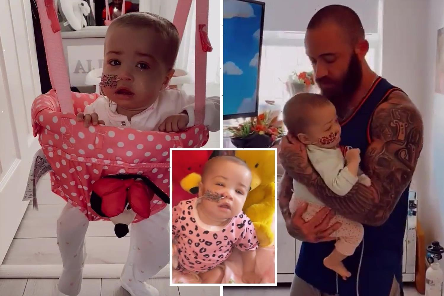 How Ashley Cain and Safiyya bravely showed the world Azaylia's final weeks as they showered her with love