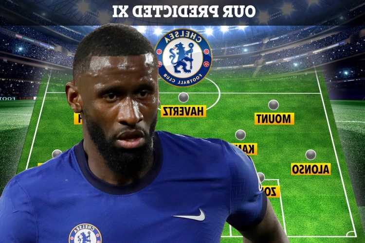 How Chelsea could line up vs Fulham with Antonio Rudiger ruled out and Timo Werner rested after Real Madrid clash