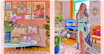 """""""I used my home of Madagascar to inspire a tropical renovation of my Brighton rental"""""""