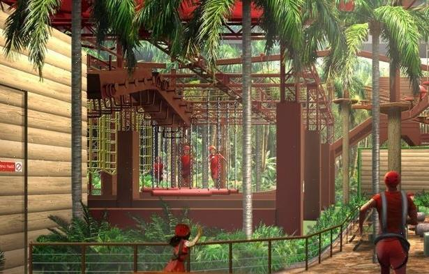 I'm a Celebrity attraction opening in Manchester this year – which includes Base Camp, Croc Creek and Snake Rock