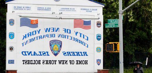Inmates start trash fire at Rikers Island, injuring 12