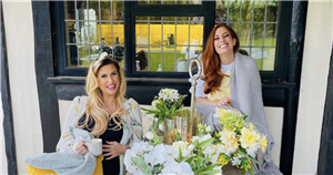 Inside Stacey Solomon's gorgeous garden party as Mrs Hinch joins her for an evening at Pickle Cottage