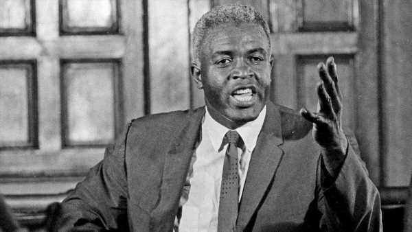 Jackie Robinson would be condemning police terror and white America were he alive today