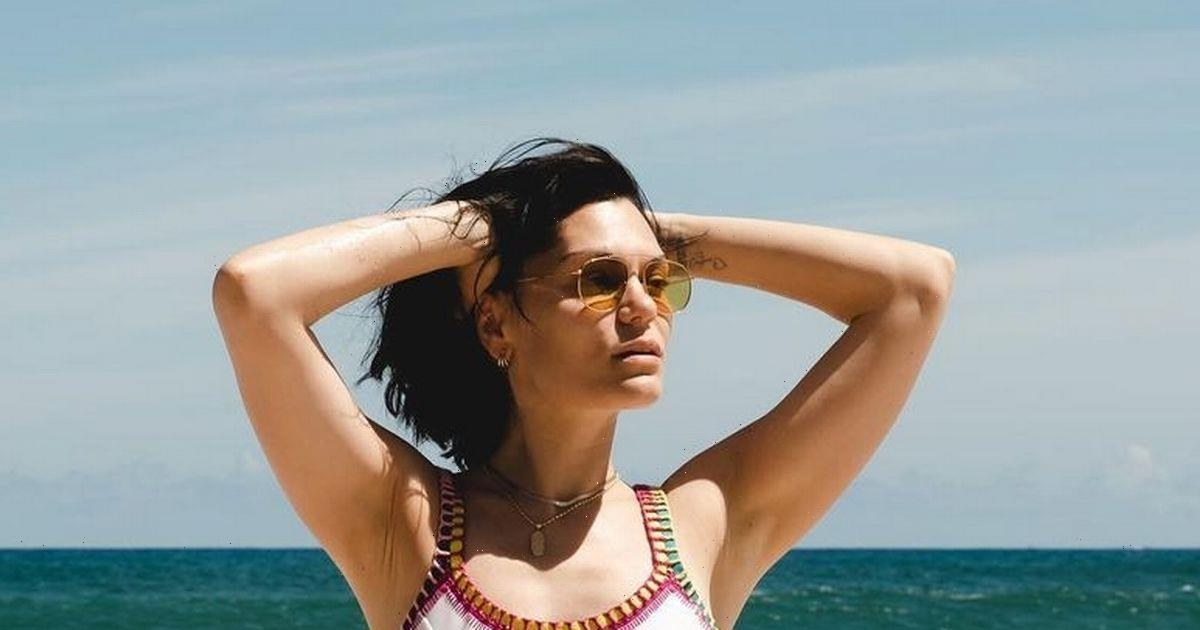 Jessie J drives fans wild in sizzling bikini as she poses in series of snaps