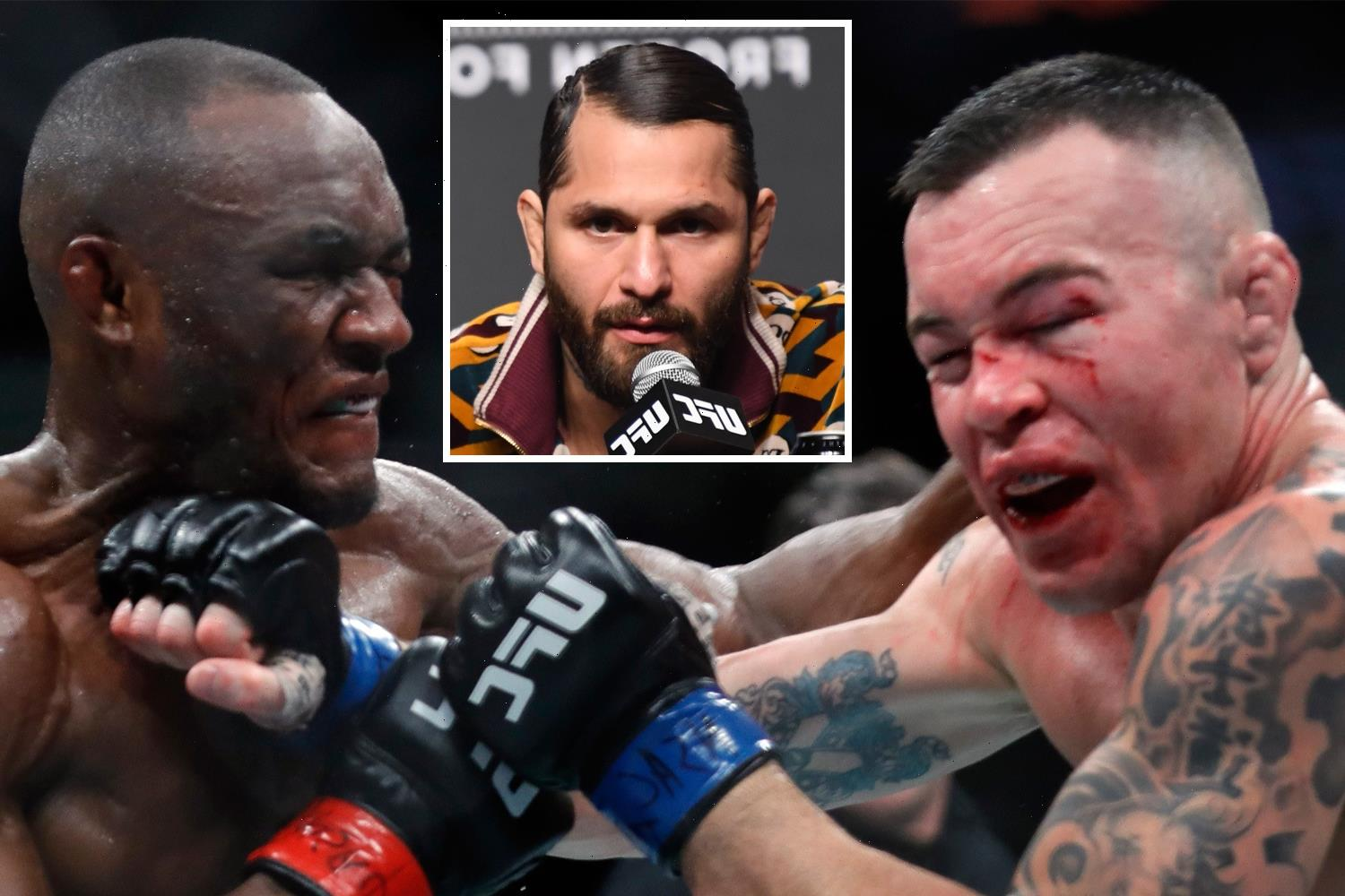 Jorge Masvidal tips Kamaru Usman to 'put a thorough beating' on Colby Covington as he breaks down UFC fight