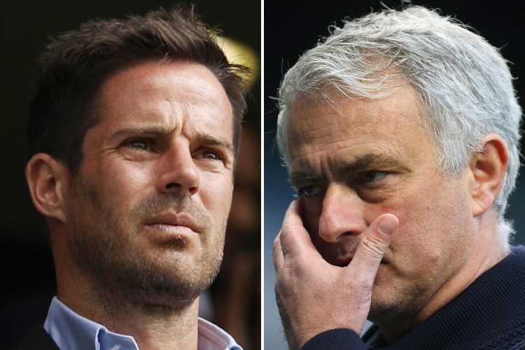Jose Mourinho MUST take responsibility for Tottenham's struggles with his side a 'tough watch', insists Jamie Redknapp