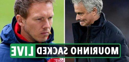 Jose Mourinho sacked LIVE: Julian Nagelsmann bookies favourite to be new Spurs boss, Ryan Mason takes training