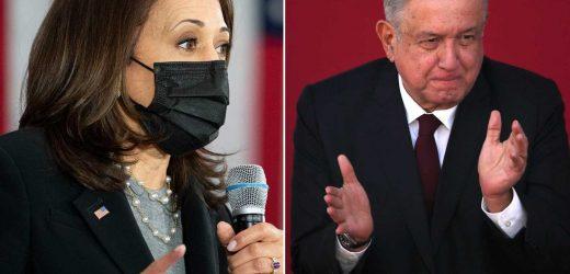 Kamala Harris to meet virtually with Mexican president amid border crisis