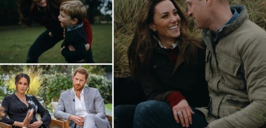 Kate Middleton & Prince William's 'relaxed' family video shows they are 'putting Megxit behind them', royal expert says