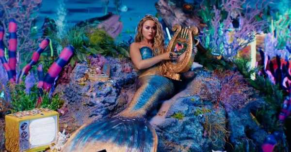 Katy Perry transforms into a mermaid as rumours swirl over Las Vegas residency