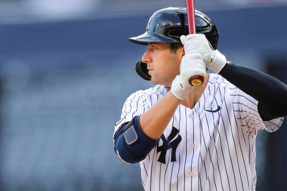 Kyle Higashioka responds to fan who promised to tattoo face 'on his a–'