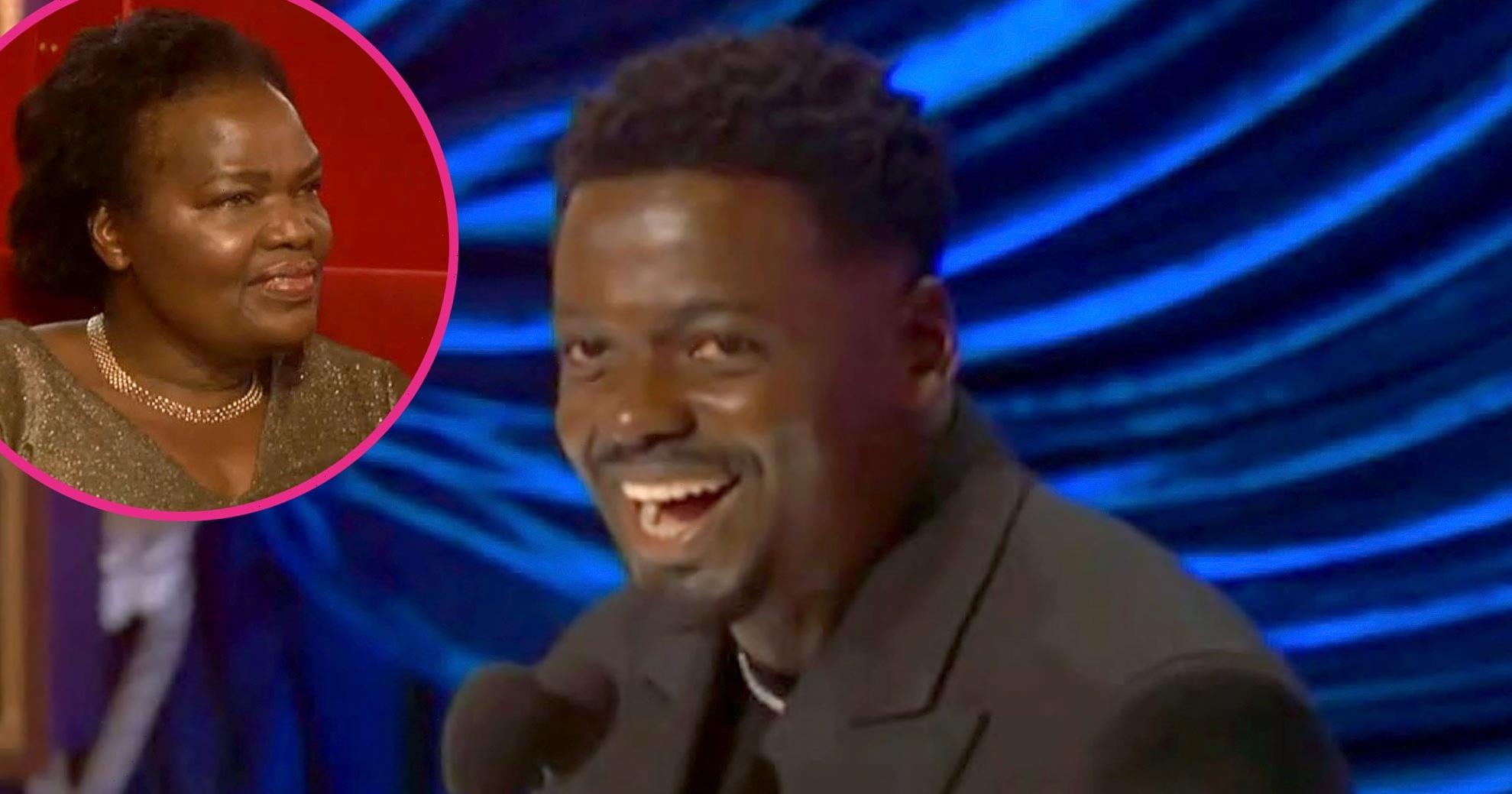 LOL! Daniel Kaluuya's Mom Had the Best Reaction to His NSFW Oscars Speech