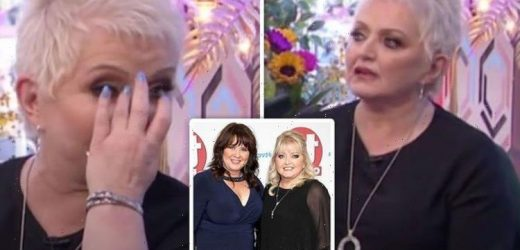 Linda Nolan breaks down in tears on air over message from sister Coleen amid cancer fight