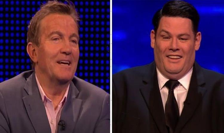 Mark Labbett 'winds up' Bradley Walsh with bizarre Jenny Ryan fact 'You what?'