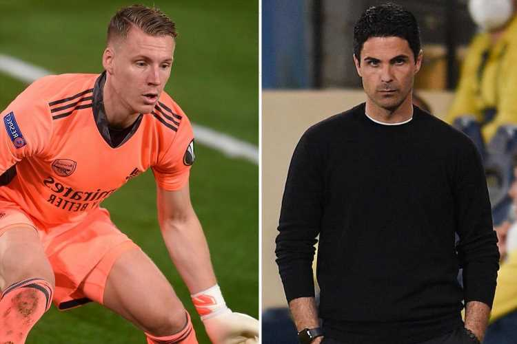 Mikel Arteta claims Bernd Leno 'saved' Arsenal's season after second-half fightback against Villarreal in Europa League