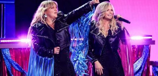 Miranda Lambert and Pregnant Elle King Hit the Stage at ACM Awards