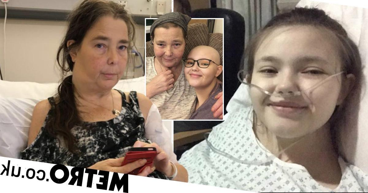Mum and daughter share tandem cancer journeys after double diagnosis