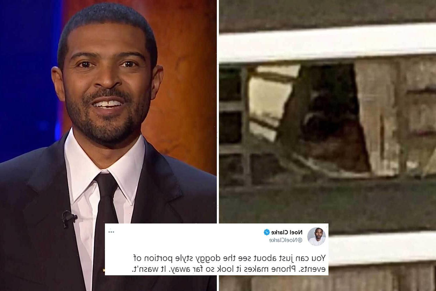 Noel Clarke tweeted a photo of his neighbours having sex before sexual misconduct allegations