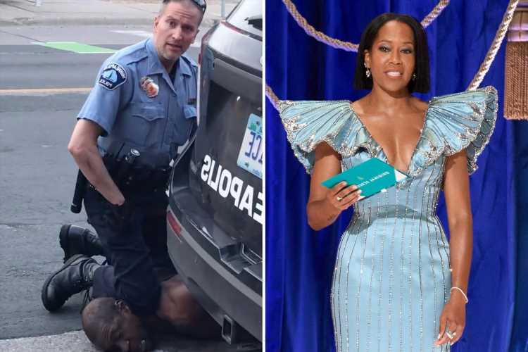 Oscars host Regina King reacts to Derek Chauvin verdict as police brutality, BLM and racism dominate winners' speeches