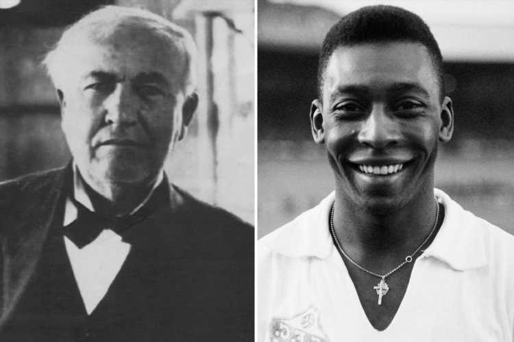 Pele fumed at nickname and wanted to be known by real name Edson as he admired inventor Thomas Edison