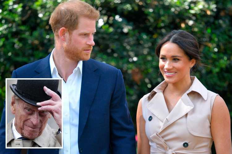 Prince Harry could be forced to isolate away from pregnant Meghan Markle for 14 days when he returns to US after funeral