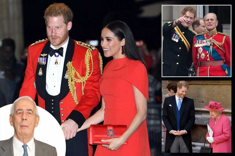 Prince Harry faces fraught return to Britain for Prince Philip's funeral but Queen 'will try to heal rift'