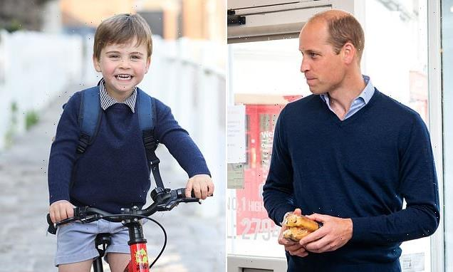 Prince Louis is dressed in his father Prince William 'in new pictures