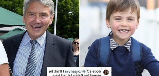 Prince Louis looks just like Michael Middleton in birthday photo