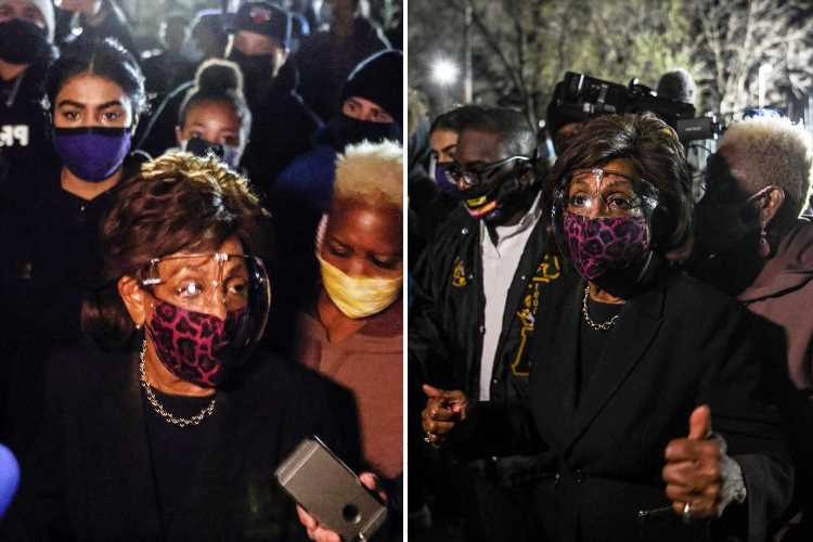 Rep Maxine Waters 'requested a POLICE escort' before speech to BLM protesters 'inciting violence' in Minnesota
