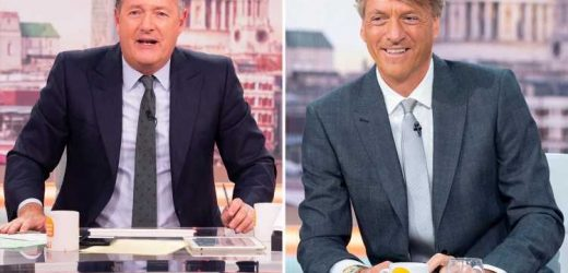 Richard Madeley offers to replace Piers Morgan on GMB and says he 'couldn't give a f***' about getting trolled