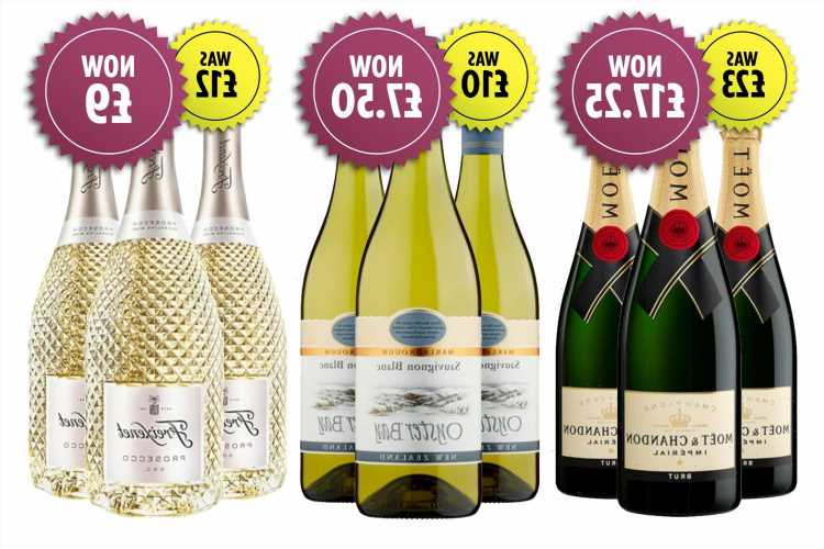 Sainsbury's is offering 25% off 6 bottles of prosecco, champagne and wine for bank holiday weekend
