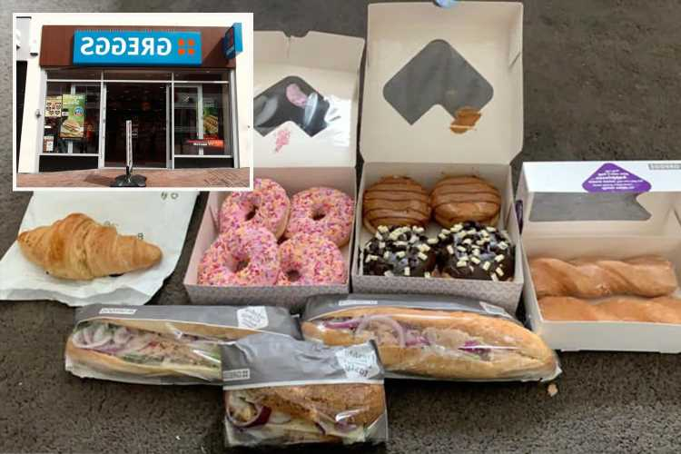 Shopper reveals how she nabbed 13 doughnuts and two baguettes for just £2.59 from Greggs – here's how YOU can
