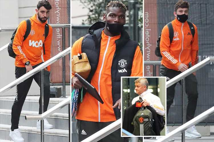 Solskjaer insists Man Utd CAN still win miracle Premier League title as stars arrive at Lowry ahead of Burnley clash