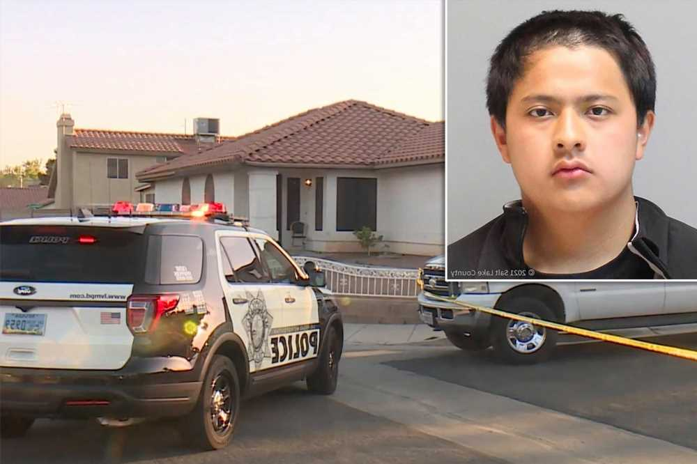 Teen couple charged with murdering girl's father in Las Vegas