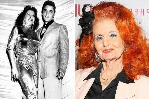 Tempest Storm, iconic burlesque performer who dated Elvis and 'had an affair with JFK', dies aged 93