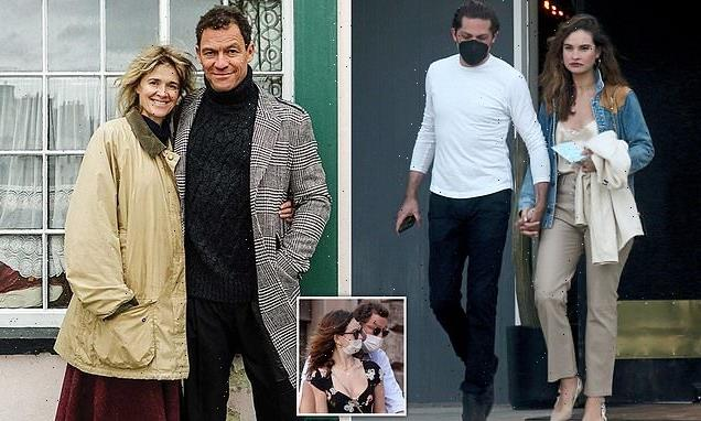 The picture Dominic West's wife will be delighted to see