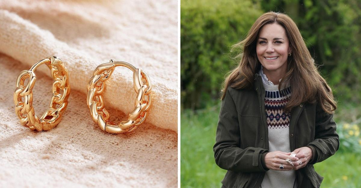 These $12 Chain Link Earrings Are Nearly Identical to Duchess Kate's