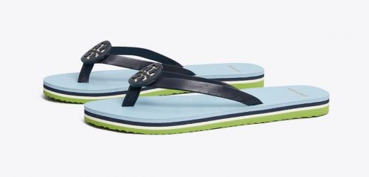 These Tory Burch Flip Flops Are 50% Off Just in Time for Sandal Season