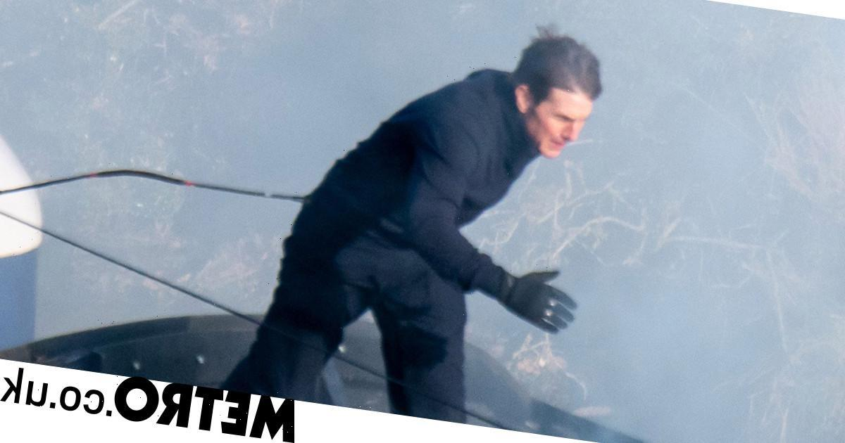 Tom Cruise is doing something dangerous – must be a day ending with a Y