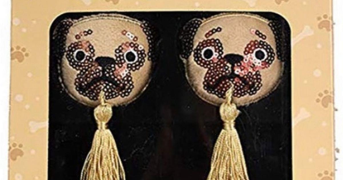 'Traumatised-looking' pug nipple tassels leave people baffled