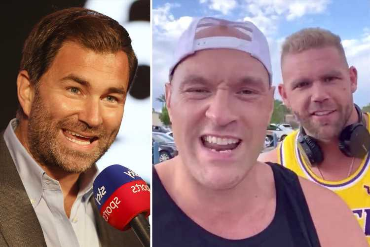 Tyson Fury brands Eddie Hearn a 'w***er' and claims Matchroom promoter favours Canelo Alvarez to Billy Joe Saunders