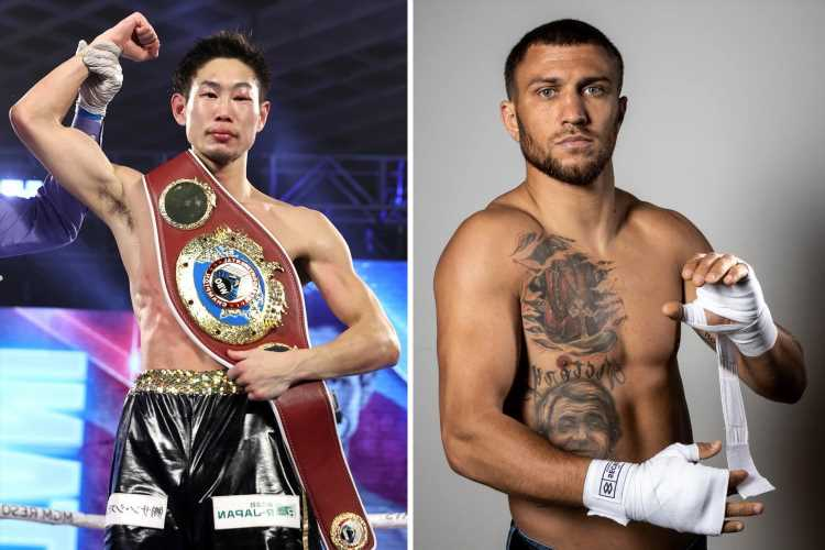 Vasiliy Lomachenko to make return against Masayoshi Nakatani after eight months out following shock Teofimo Lopez loss