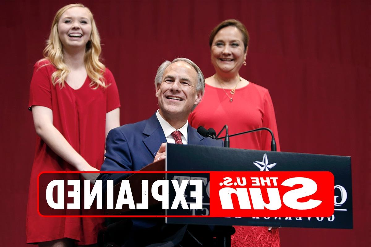Why is Texas Governor Greg Abbott in a wheelchair?