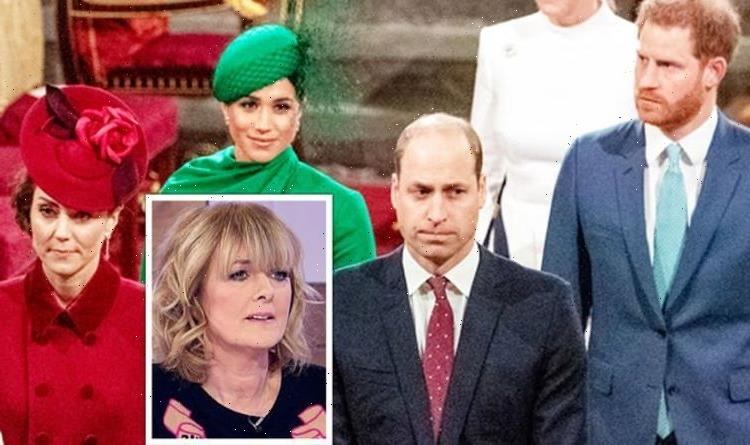 'Without Meghan by his side' Loose Women's Jane Moore weighs into Harry and William rift