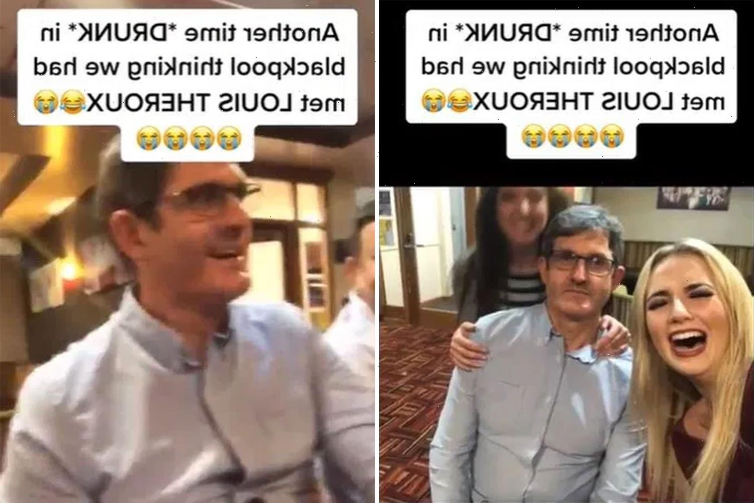 Woman mortified after finding snap with 'Louis Theroux' from a night out & realising her awkward blunder