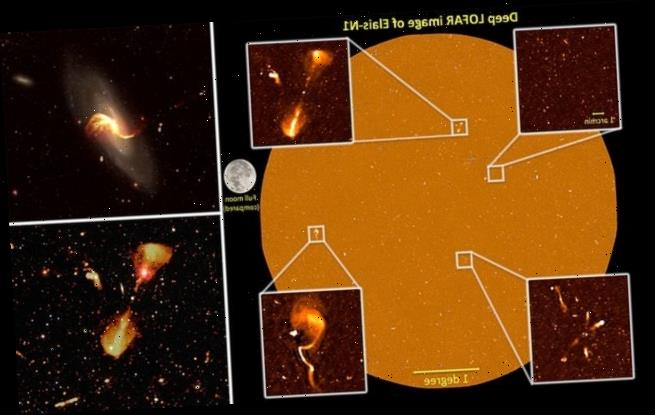 Radio images reveal thousands of star-forming galaxies
