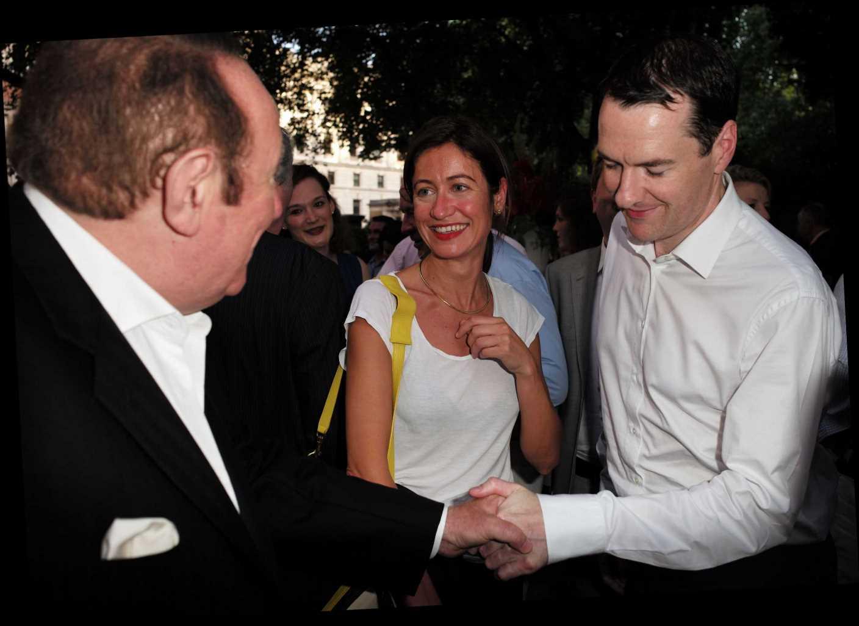 Who is George Osborne's fiancée Thea Rogers?